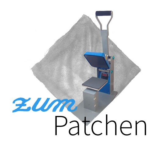 Textilkennzeichnung Patchmaschine Etiketten zum Patchen